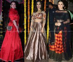 Celebrity Diwali Lehengas