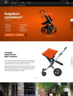 A user friendly website selling strollers and accessories with a fantastic configurator that lets you completely customize the products. Ecommerce Website Design, Smart Design, Bugaboo, Strollers, Create Your Own, Accessories, Products, Intelligent Design, Pram Sets
