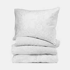 Lennol | BLACKBIRD duvet cover, white