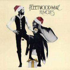 a little Christmas fun with a photo edit of the 'Rumours' album cover with Mick Fleetwood and Stevie  ~ ☆♥❤♥☆ ~     on it