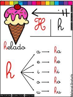 Alphabet Activities, Preschool Activities, Montessori, Bilingual Education, Spanish Class, School Colors, Teaching Materials, Spanish Language, Grade 1