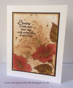 Wendy's Card Craft: Designs by Ryn