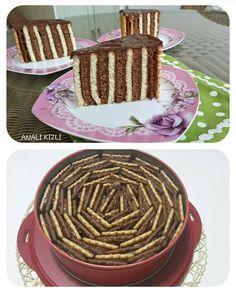 En güzel mutfak paylaşımları için kanalımıza abone olunuz. http://www.kadinika.com Önerilen Sayfa @emeshome @emeshome Tarif Sahibi @anali.kizli.lezzetler @anali.kizli.lezzetler Tarif BİSKÜVİLİ PASTA Malzemeler: 1 paket sade pötibör bisküvi 1 paket kakaolu pötibör bisküvi Kreması İçin: 4 su bardağı süt 3 yemek kaşığı tepeleme un 2 yemek kaşığı kakao 6 yemek kaşığı şeker 1 adet yumurta Yapılışı: Krema malzemelerini tencereye koyup pişirin. Ilıdıktan sonra bisküvilerin her birine...