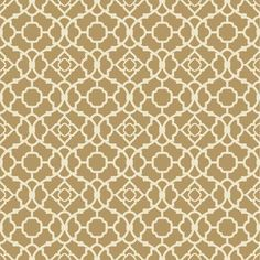 "York Wallcoverings Waverly Small Prints Lovely Lattice 33' x 20.5"" Geometric…"