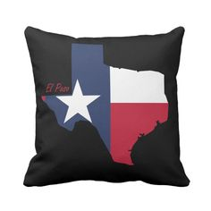 Beautiful pillow for people from El Paso, Texas