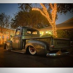 #COPPERHEAD getting its Christmas Spirit on!   For more pics and videos visit: Website:  Miayota.blogspot.com                 & RidesNation.com YouTube: Miayota                            #3100 #ratrodtruck #ratrod #patina #patinatruck #bagged #baremetal #airride #airridetruck #chevy #chevrolet #chevylife #chevytruck #chevrolettruck #sick #pickup #picoftheday #pinups #sbc #streetrod #c10 #vintage #classic #farmlandsofamerica #steelies #layframe #classictruck #oldschool  #accuair