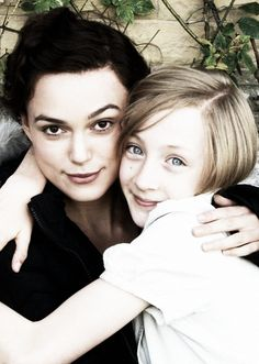 Keira Knightley and Saoirse Ronan