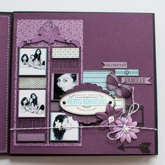 Mini Album » Ensemble» – Scrap de filles Diy Album Photo, Memories Photo Album, Diy Photo, Mini Albums Scrapbook, Scrapbook Layouts, All Paper, Smash Book, Mini Books, Paper Design