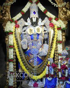Todays Srinivasa Govinda darshan at @ISKCONBangalore .