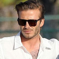 ray ban mens clubmaster  David Beckham - Ray-Ban Clubmaster sunglasses