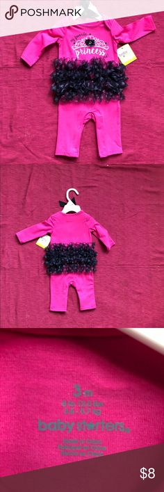 3 for $15  Baby Girl 1 pc tutu outfit Baby Girl 1 pc tutu outfit Baby Starters One Pieces Bodysuits