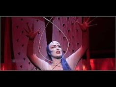 """Diana Damrau as Queen of the Night at the Met with her second aria """"Der Hölle Rache""""."""