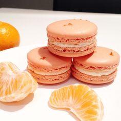 Clementine macarons
