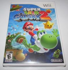 Super Mario Galaxy 2 Platform: Nintendo Wii Game is Brand New, Factory Sealed! We ship Fast! All orders ship same or next business day! Shipping: Unit... #factory #sealed #brand #nintendo #mario #galaxy #super