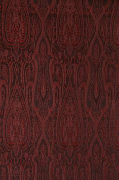 Our high-end Bright Maroon Silk Brocade 402 Fabric is machine-woven with silk threads in intricate designs and patterns. Buy silk at NY Designer Fabrics. Silk Brocade, Home Decor Fabric, Silk Thread, Silk Fabric, Fabric Design, Indoor, Bright, Rugs, Pattern