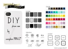DIY Phone Cases by conniption Prints