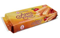 Delicious apple flavor baked right into every wafer. Available for a limited time only!