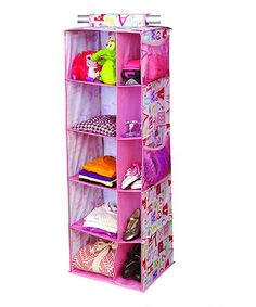 Take a look at this Owlphabet 10-Compartment Hanging Closet Organizer by Laura Ashley Home on #zulily today!