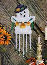 plastic canvas wind chimes | Halloween In Plastic Canvas Pattern Book Wind Chimes Tissue Covers ...