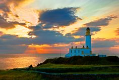 Turnberry Lighthouse, Turnberry, Scotland.  Another place in Scotland I'd like to go.