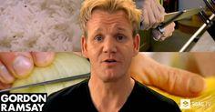 Gordon Ramsay Teaches You How To Master 5 Basic Cooking Skills - 9GAG.tv