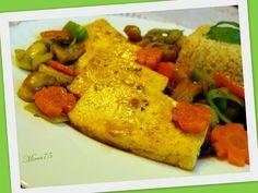 Smetanové gnocchi se žampióny a pórkem Tofu, Gnocchi, Hummus, Meat, Chicken, Ethnic Recipes, Bulgur, Cubs