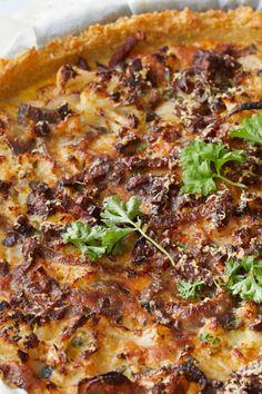 Banh Xeo, Lasagna, Quinoa, Veggies, Breakfast, Ethnic Recipes, Food, Mushroom, Lasagne
