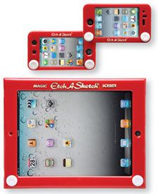 Etch A Sketch Cases for iPad, iPod, and iPhone