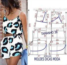 Sensational Tips Sewing Pattern Ideas. Brilliant Tips Sewing Pattern Ideas. Dress Sewing Patterns, Sewing Patterns Free, Clothing Patterns, Sewing Pants, Sewing Clothes, Jumpsuit Pattern, Pants Pattern, Fashion Sewing, Diy Fashion