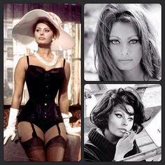 The beautiful iconic Sophia Loren. #fashion #icon #beautiful