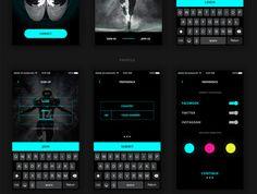 UI8 — Products — UI Kit Glow