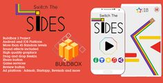 Switch The Sides . Switch the sides is a game made with buildbox software. The game is too easy to reskin, you can make your own characters and