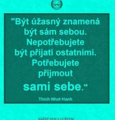 Jsem a budu Story Quotes, Better Day, Motto, True Stories, Letter Board, Wisdom, Lettering, Humor, Motivation