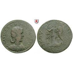 Römische Provinzialprägungen, Kilikien, Tarsos, Otacilia Severa, Frau Philippus I., Bronze, f.ss/s-ss: Kilikien, Tarsos. Bronze 32… #coins