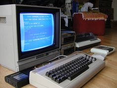The old classic, the Commodore C64