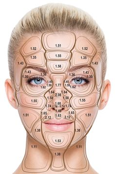 A Comprehensive Examination of Topographic Thickness of Skin in the Human Face Umfassende Untersuchung der topografischen Dicke der Haut im. Face Aesthetic, Facial Anatomy, Face Proportions, Facial Aesthetics, Eyebrow Tinting, Thick Skin, Best Eyebrow Products, Dermal Fillers, Skin Treatments