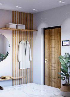feng shui tips for entrance door Best Picture For feng shui home For Your Tas. - feng-shui-home Flur Design, Home Design, Modern Design, Entryway Decor, Bedroom Decor, Feng Shui Bedroom, Diy Casa, Apartment Interior Design, Home Furniture