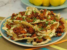 Get this all-star, easy-to-follow Chorizo Nachos recipe from Marcela Valladolid.