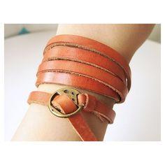 wrap bracelets | leather