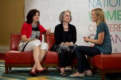 Nancy Leigh DeMoss and Mary Kassian at The Gospel Coaltion Women's Conference 2012