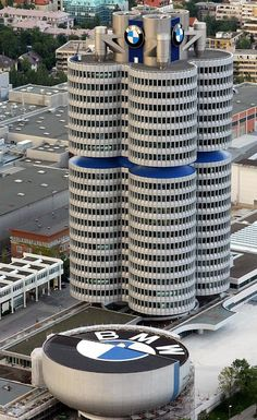 The Infinite Gallery : BMW Headquaters, Germany