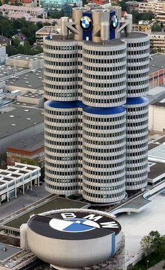 德國/BMW Tower總部大廈
