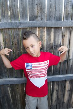 Boys July 4th Tshirt  Red White Blue by PaisleesandPigtails, $15.00
