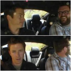 "Tanner Foust's  ""the look"" . Cracks me up. #TopGearUS"