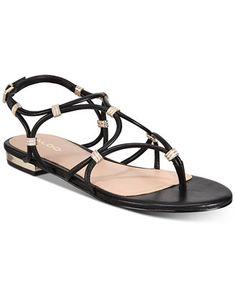 460c4e40824c ALDO Cearka Flat Sandals   Reviews - Sandals   Flip Flops - Shoes - Macy s
