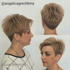 Red Hair, Short Hair Styles, Hair Cuts, Hair Beauty, Shorts, Amazing, Hairdos, Shaved Hair, Shaving