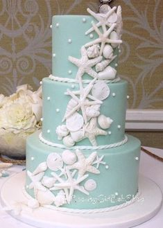 A one tier cake would do.  This is beautiful and simple