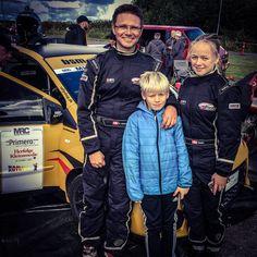 BSM Motorsport, Cecilie og Brian til Klubrallykursus. Sammen med Mads #bsmreklame #rally #motorsport #bsmmotorsport #microrallycup #klubrallykursus #twingo #renaultsport