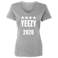 c5f86b252 Yeezy 2020 Womens Vneck Short Sleeve T-shirt
