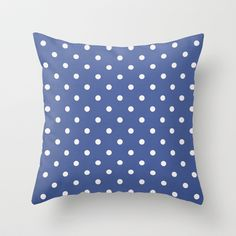 Polka Party Royal Throw Pillow by Shawn Terry King - $20.00